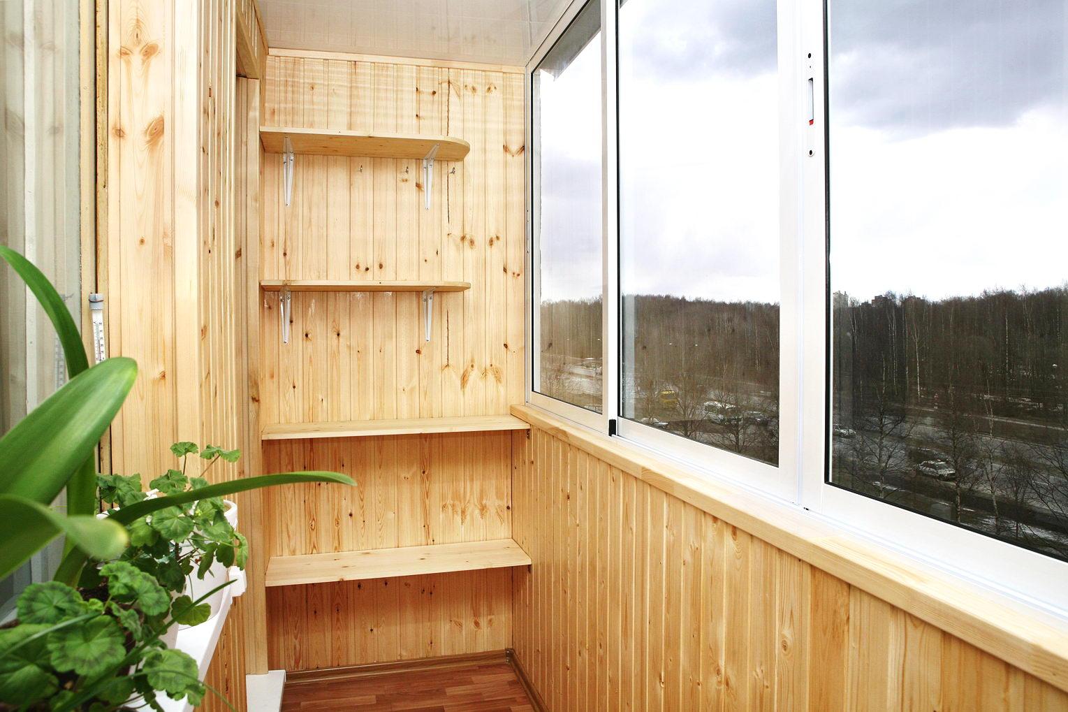 Полка на балкон своими руками