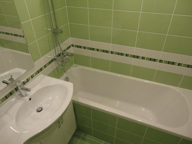 Ремонт ванной комнаты своими руками в новостройки