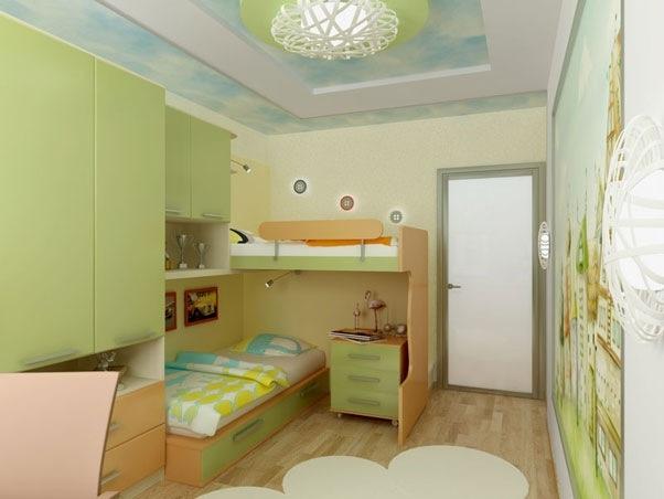 Дизайн детской комнаты своими руками (43 фото) - 41 фото