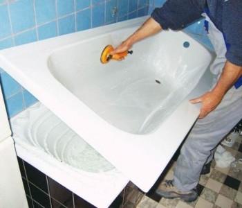 Замена ванной
