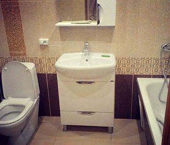 стандарт-ремонт ванной в Рязани